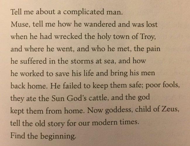 Odyssey Excerpt